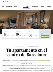 diseño web apartamentos turisticos