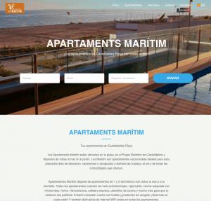 diseño web para apartamentos